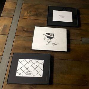 Karl Lagerfeld for Chanel custom artwork